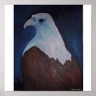 Blue Eagle Poster