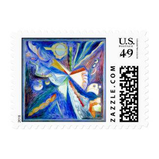 Blue Eagle Stamp