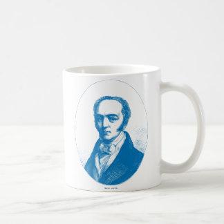 Blue Earl Grey Coffee Mugs