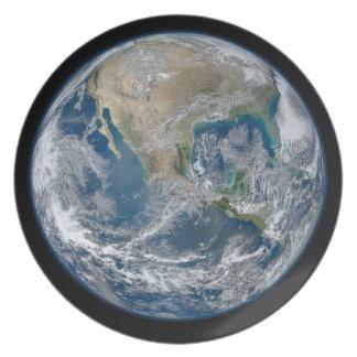 Blue Earth Dinner Plate
