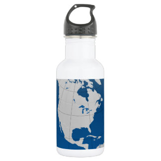 Blue Earth High Quality Print Water Bottle