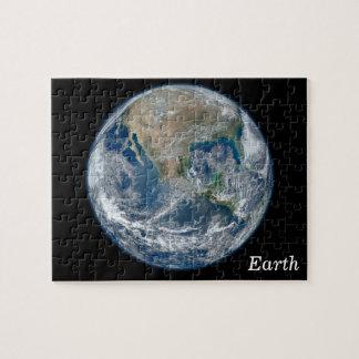 Blue Earth Jigsaw Puzzle