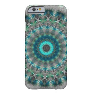 Blue Earth Mandala Kaleidoscope pattern Barely There iPhone 6 Case