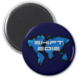 Blue Earth Shift 2012 2 Inch Round Magnet