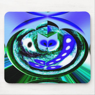 Blue Earth Spirit Mouse Pad
