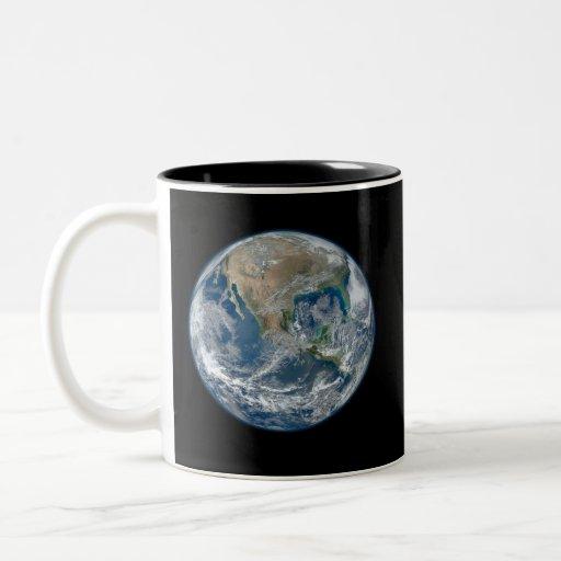 Blue Earth Two-Tone Coffee Mug