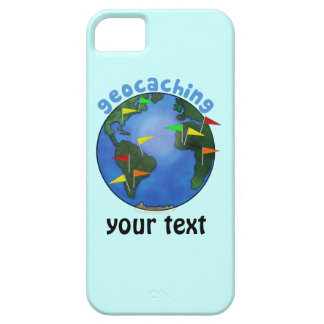 Blue Earth With Flags Geocaching Custom iphone 5 iPhone 5 Covers