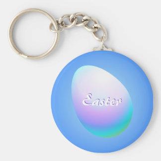 Blue Easter Egg Keychain