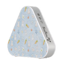Blue Easter Pattern Speaker