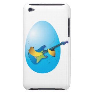 Blue egg playing guitar iPod Case-Mate case