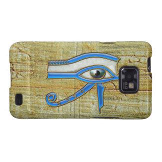 Blue Egyptian Eye of Horus Samsung Galaxy Galaxy SII Case