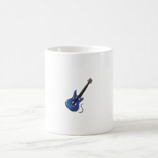 blue electric guitar music graphic.png coffee mug