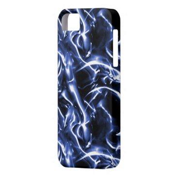 Blue Electric iPhone 5G Case