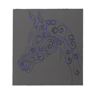 blue Electric Notepad