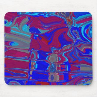 Blue Elegance Mouse Pad