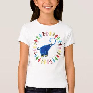 BLUE ELEPHANT American Apparel Cap Sleeve T-Shirt