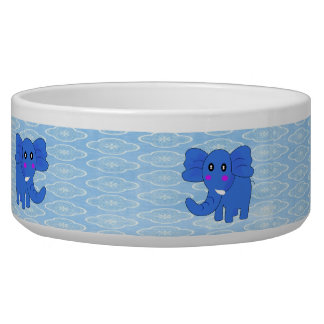 Blue Elephant Bowl