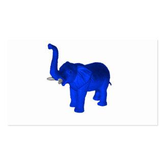 Blue Elephant Business Card