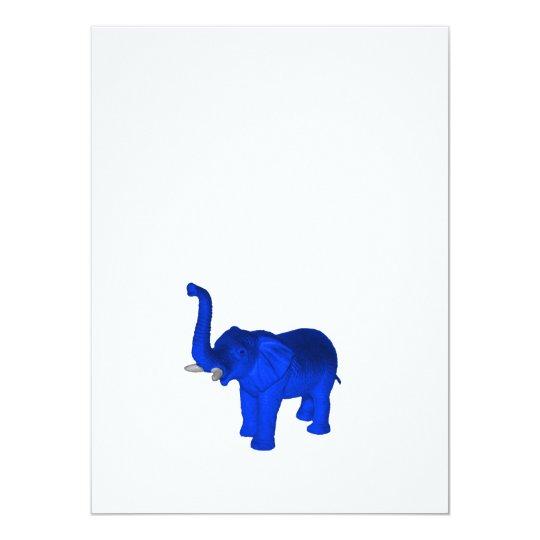 Blue Elephant Card
