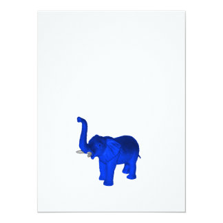 Blue Elephant Card