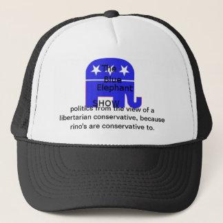 blue elephant hat