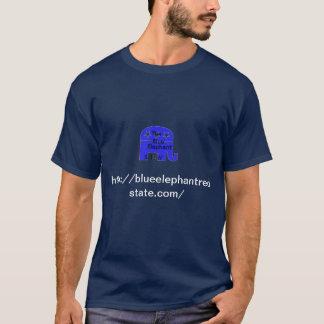 blue elephant libertarian conservative T-Shirt