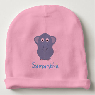 Blue Elephant Personalized Hat