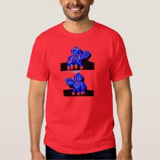 Blue Elephant Tee Shirt