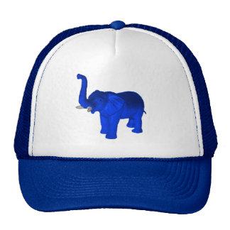 Blue Elephant Trucker Hat