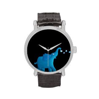 blue elephant wristwatch