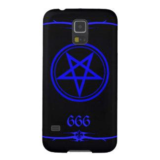 Blue Elite Luciferian Magus 666 Galaxy S5 Covers