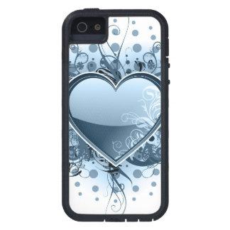 Blue Emo Heart iPhone SE/5/5s Case