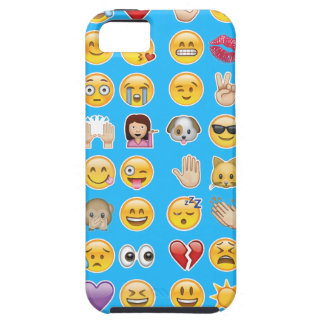 blue emoji iPhone SE/5/5s case