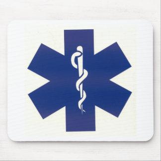 Blue EMT Mouse Pad