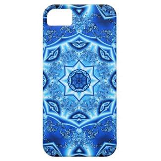 Blue enamel fibula iPhone 5 case