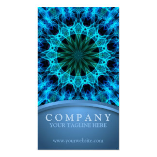 Blue Energy Double-Sided Standard Business Cards (Pack Of 100)