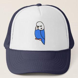 Blue English Budgie Trucker Hat