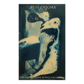 Blue Enigma Poster
