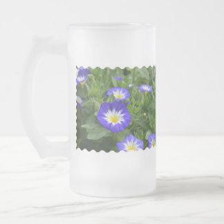 Blue Ensign Morning Glory Flowers Mug