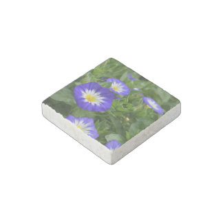 Blue Ensign Morning Glory Stone Magnet