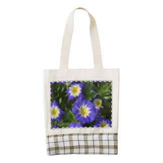 Blue Ensign Morning Glory Zazzle HEART Tote Bag