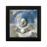 Blue Enso Meditation - collage Gift Boxes