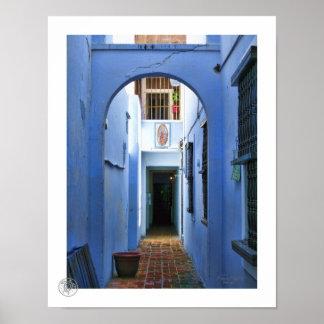 Blue Entrance Poster