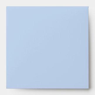 Blue enveloppe envelope