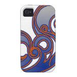 'Blue épico Case-Mate iPhone 4 Carcasa