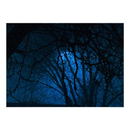 Blue Evening Posters