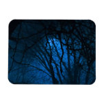 Blue Evening Rectangle Magnets