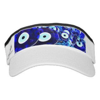 Blue Evil Eye amulets Visor