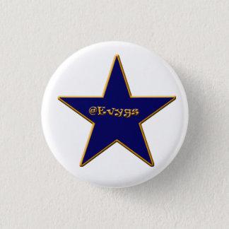 Blue Evygs star pin