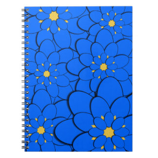 Blue examined note books